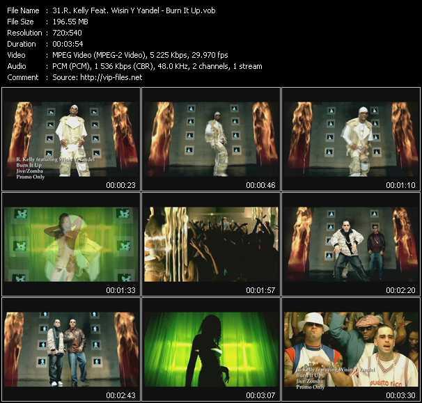 R. Kelly Feat. Wisin And Yandel - Burn It Up