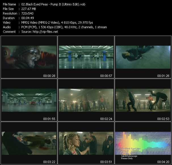 Black Eyed Peas - Pump It (Ultimix Edit)