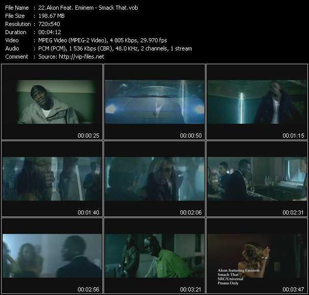 Akon Feat. Eminem - Smack That