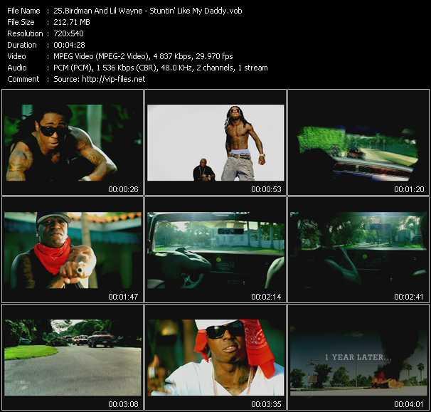 Birdman And Lil' Wayne - Stuntin' Like My Daddy