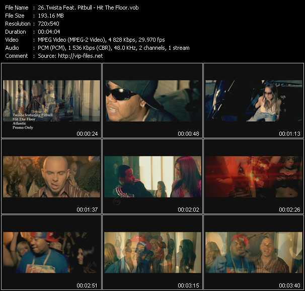 Twista Feat. Pitbull - Hit The Floor
