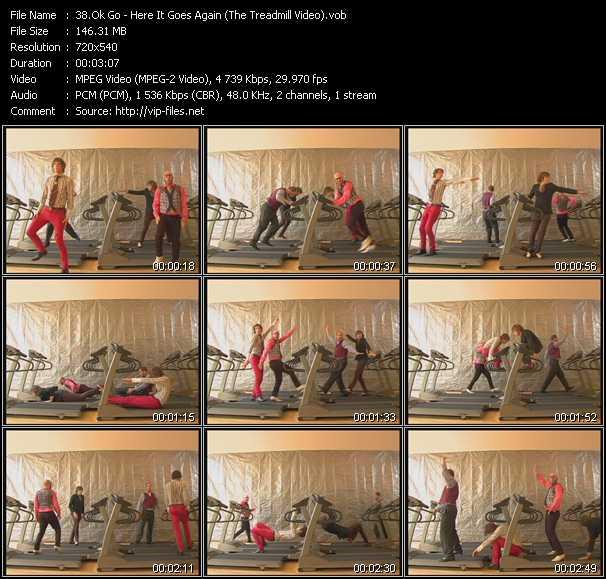 Ok Go - Here It Goes Again (The Treadmill Video)
