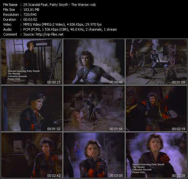 Scandal Feat. Patty Smyth - The Warrior