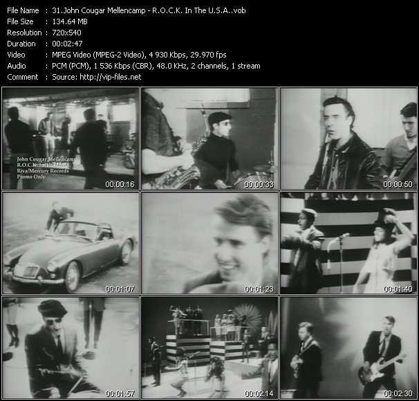 John Cougar Mellencamp - R.O.C.K. In The U.S.A.