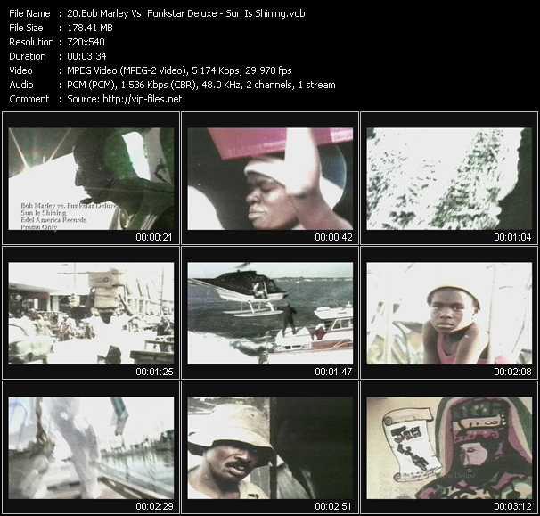 Bob Marley Vs. Funkstar Deluxe - Sun Is Shining