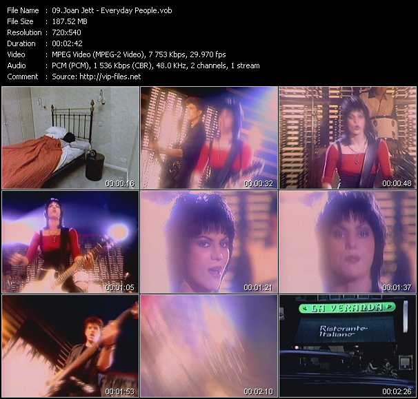 Joan Jett And The Blackhearts - Everyday People