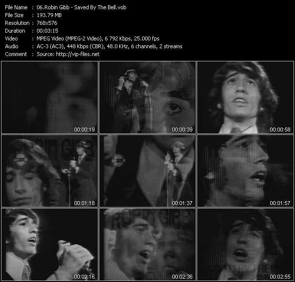Robin Gibb - Saved By The Bell