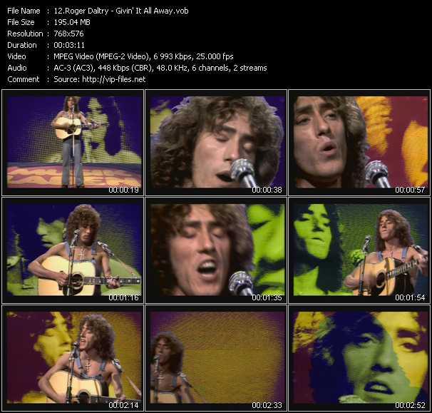 Roger Daltrey - Givin' It All Away