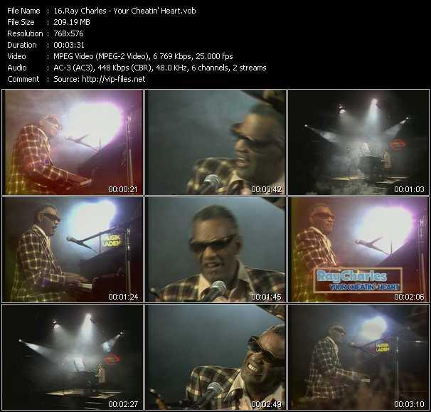Ray Charles - Your Cheatin' Heart